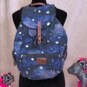 Rare Victoria's Secret Pink Galaxy Backpack